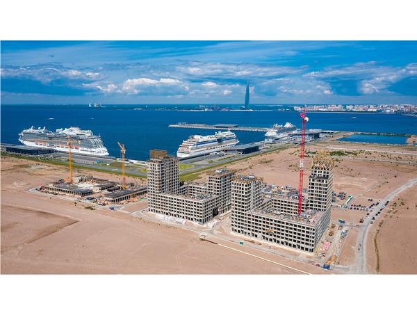 Golden City: как идет строительство нового символа Санкт-Петербурга