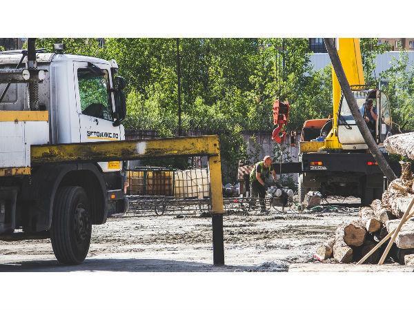 В комплексе Start от ПСК начались общестроительные работы