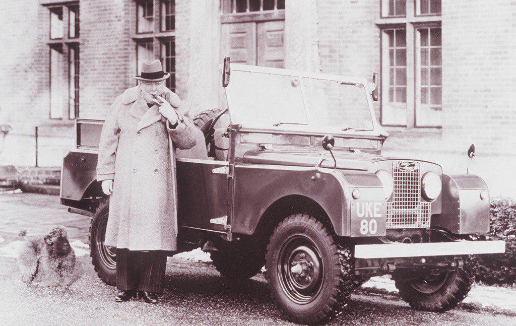 Уинстон Черчилль и Land Rover