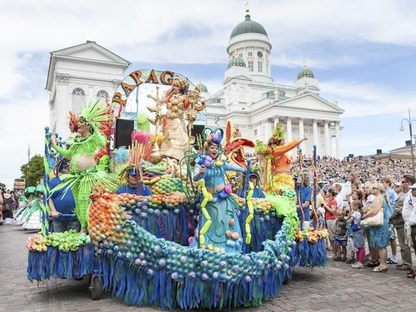 Выходные в Финляндии 8-9 июня: самба, театр и много рока