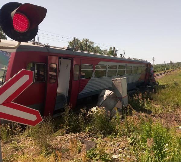 ДТП в Псковской области 1 июля. Фото ОЖД