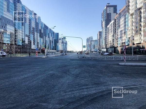 Setl Group построил новый участок Комендантского проспекта
