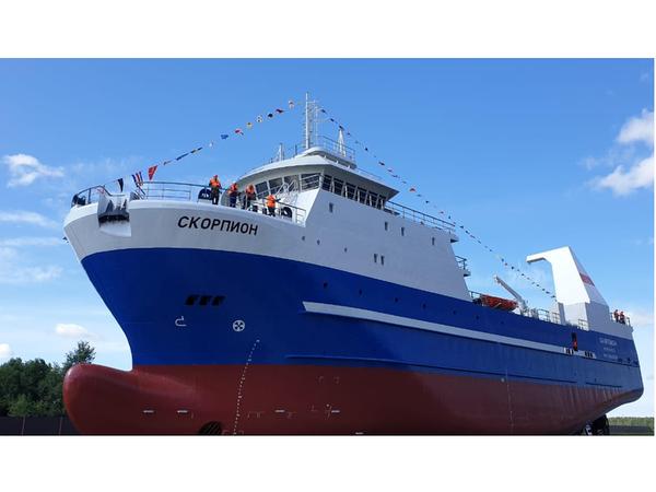 При поддержке Альфа-Банка построен рыболовный траулер стоимостью 33 млн евро