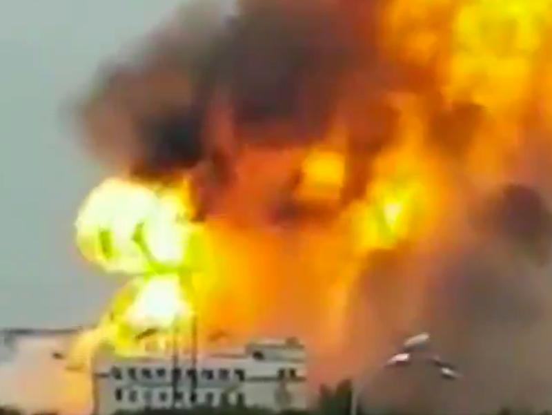Скриншот видео twitter.com / @EremNews