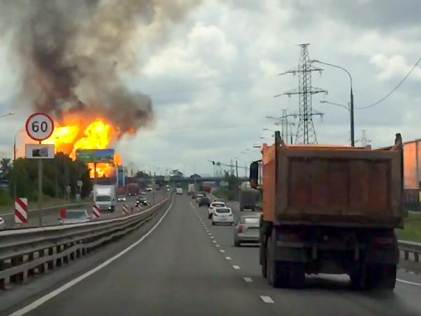 Факел на Северной ТЭЦ потушили, но площадь пожара увеличилась в 4 раза