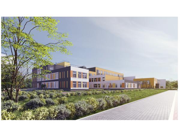 ГК «Ленстройтрест», будущая школа в голландском квартале «Янила»