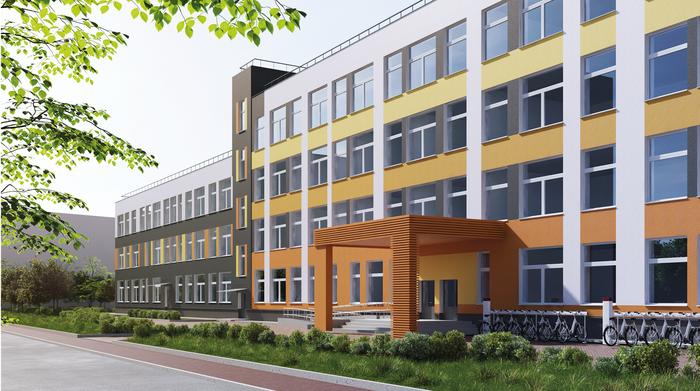 """ГК """"Ленстройтрест"""", будущая школа в голландском квартале """"Янила"""""""