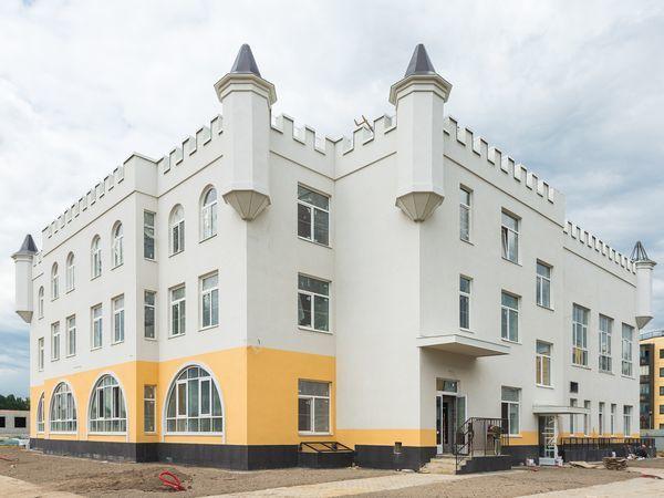 Детский сад в финском городке «Юттери» готов на 97%