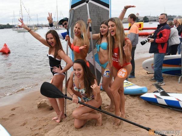 10 из 29: читатели «Фонтанки» решили, кто выйдет в финал конкурса «Мисс SUP – 2019»