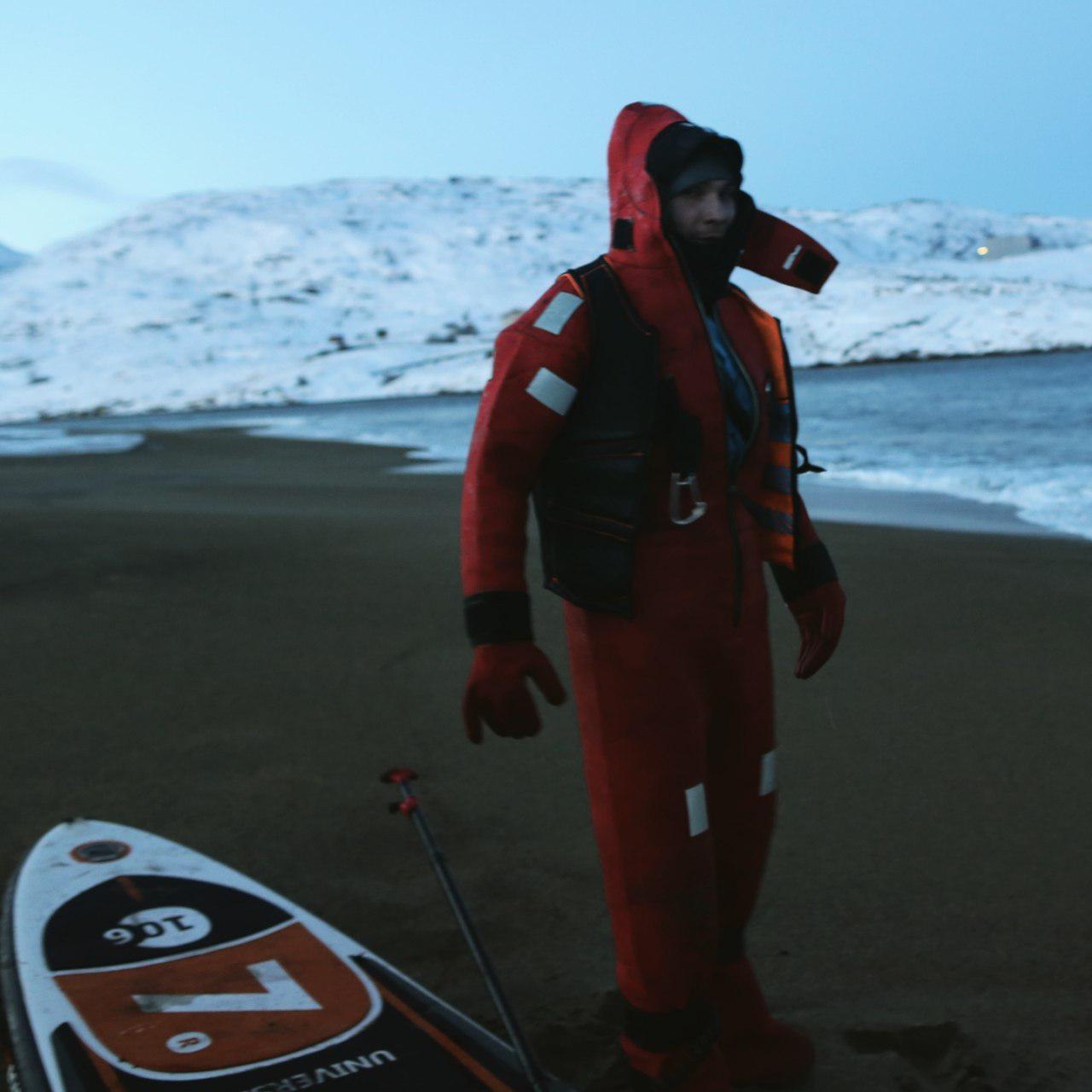 Спасательный костюм, который выручил Диму в Исландии