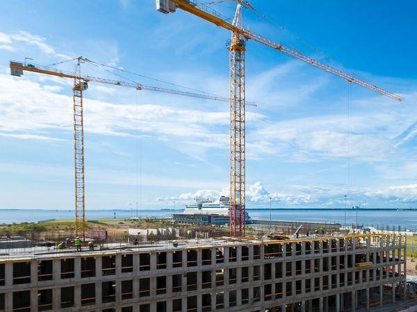 VII квартал жилого комплекса Golden City набирает высоту