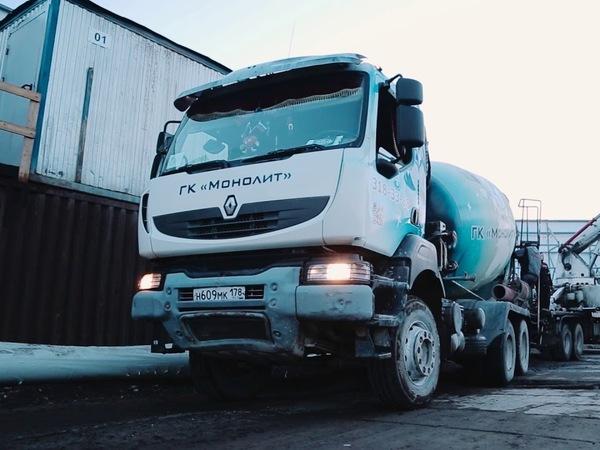 «Монолит» меняет лица. Лидер бетонной отрасли в Петербурге нашел нового хозяина