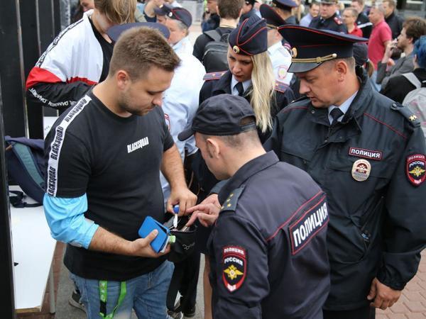 В Петербурге начался митинг против нарушений на выборах