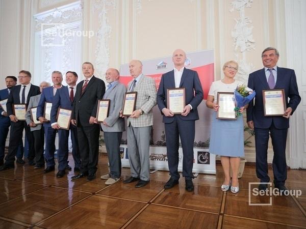 Строители ЖК «Солнечный город» получили награды за профессионализм