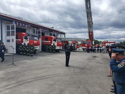 В микрорайоне Янино открылось пожарное депо