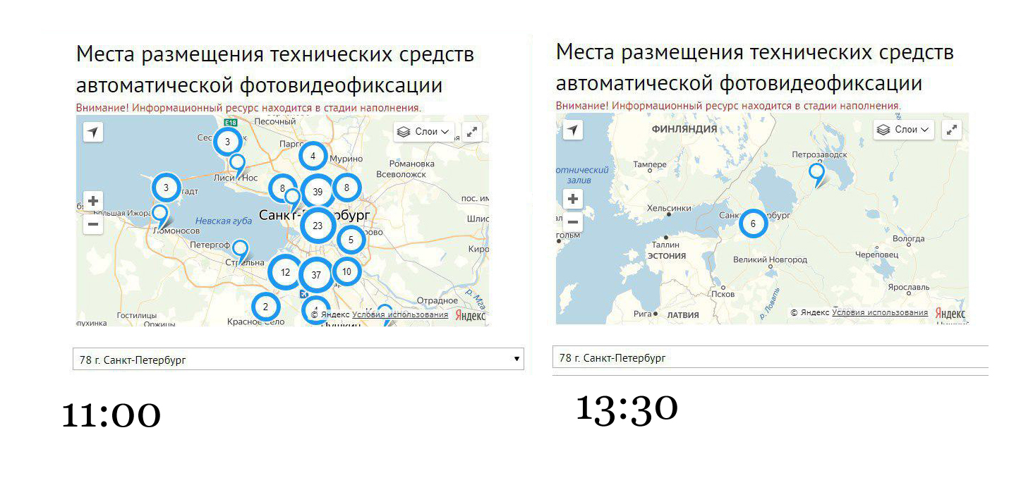 Скриншот сайта гибдд.рф/Коллаж