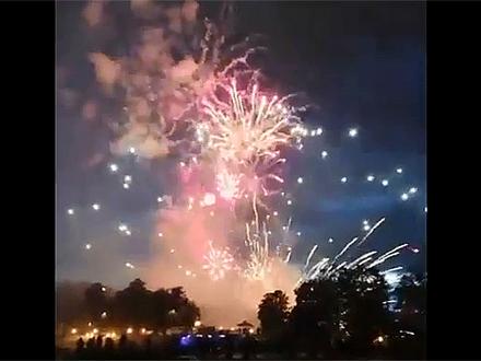 Момент взрыва/кадр из видео/NDEPENDENT - BELARUS/YouTube