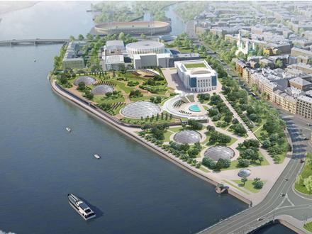 Проект парка на месте Судебного квартала