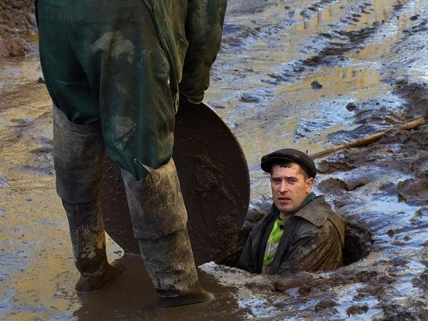 Годовой запас ливней за неделю. Почему петербургская канализация не может проглотить июльские дожди