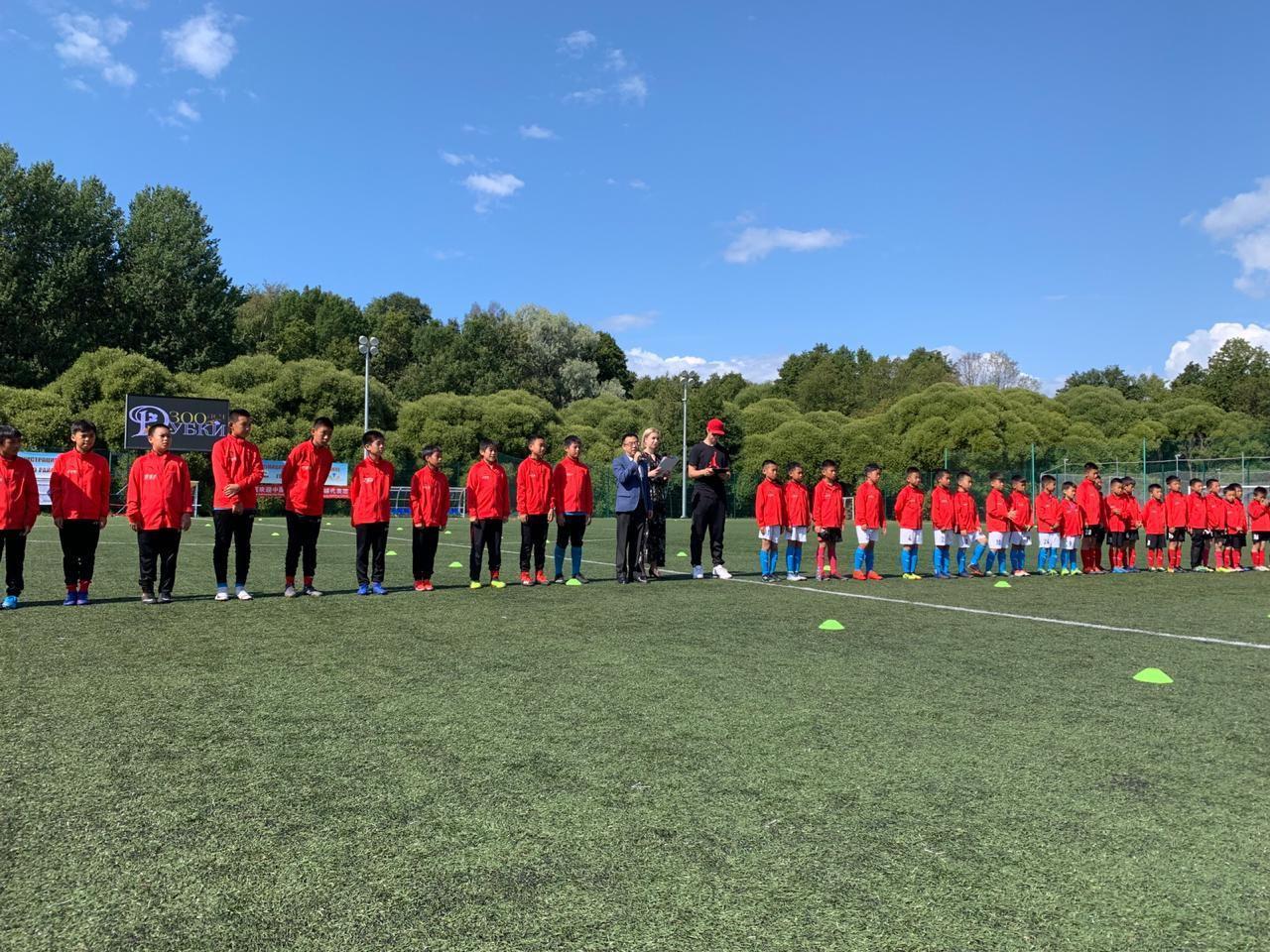 фото: Пресс-служба международного юношеского футбольного турнира «Один пояс, один путь – Кубок Санкт-Петербург 2019»