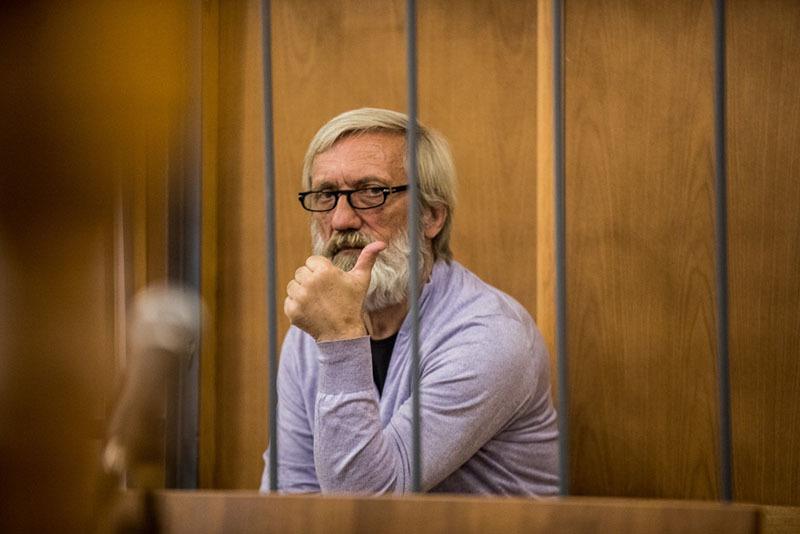 Игорь Саликов на процессе
