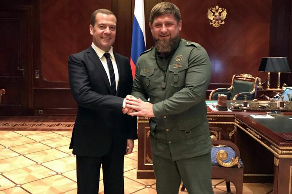 ДмитрийМедведевиРамзанКадыров