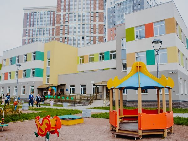 «Группа ЛСР» открыла «звездный» садик в Московском районе Санкт-Петербурга