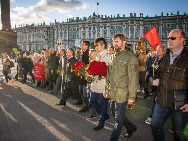 «Марш Памяти и Славы» в центре Петербурга 7 сентября
