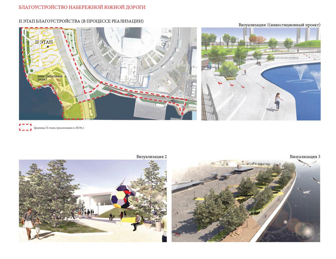 """Концепция благоустройства Южной дороги/Агентство ландшафтной архитектуры и дизайна """"Нескучный сад"""""""