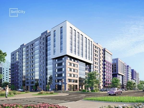 Проекты SetlGroup возглавили ТОП-10 самых покупаемых новостроек Петербурга