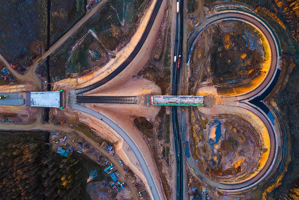 Трасса наивысшей категории. Как строится магистраль М-11 между двумя столицами (Иллюстрация 4 из 4) (Фото: Магистраль двух столиц)