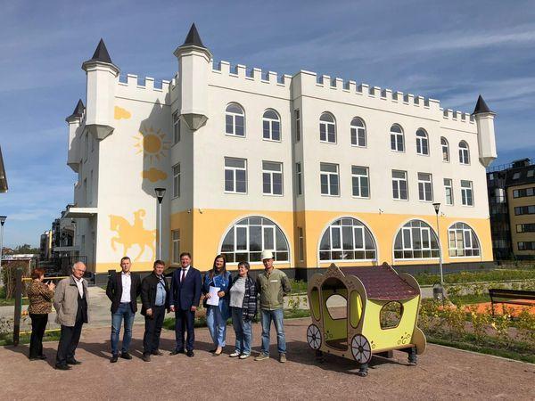 Детский сад-замок в Юттери посетила комиссия конкурса «Лидер строительного качества»