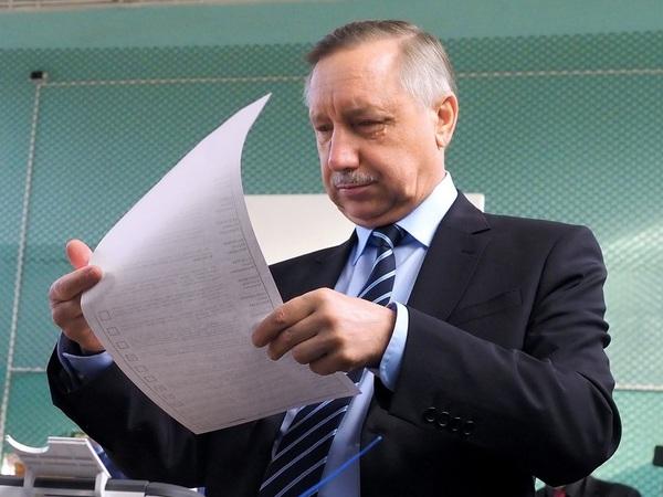Александр Беглов//Александр Петросян/Коммерсантъ