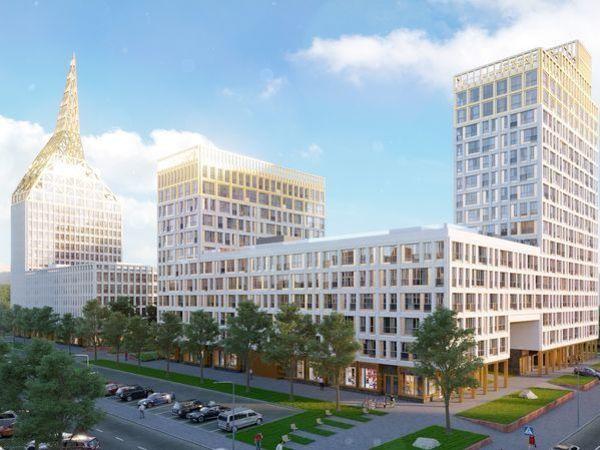 В VI квартале Golden City осталось 30 квартир