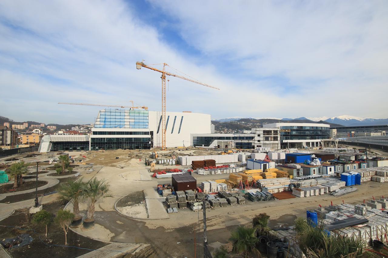 Строительство центра 2018 год