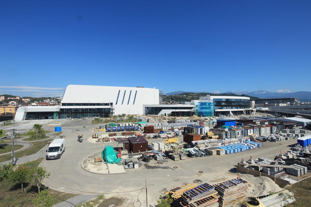 Строительство центра 2019 год