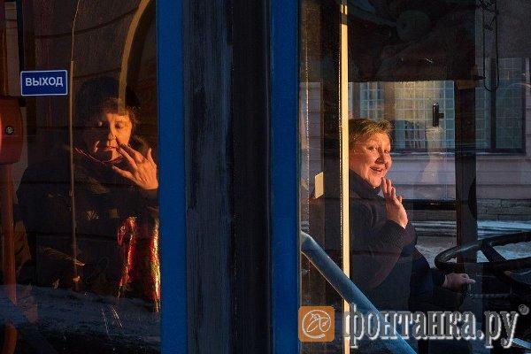 Общественный транспорт в Петербурге