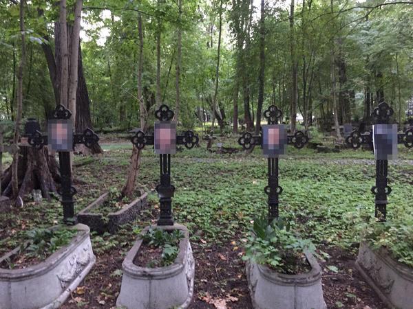 «Кадырова» на кладбище видели, но в телеграме не повесили. Активист «АгитРоссии» намекнул на провокацию с могилами