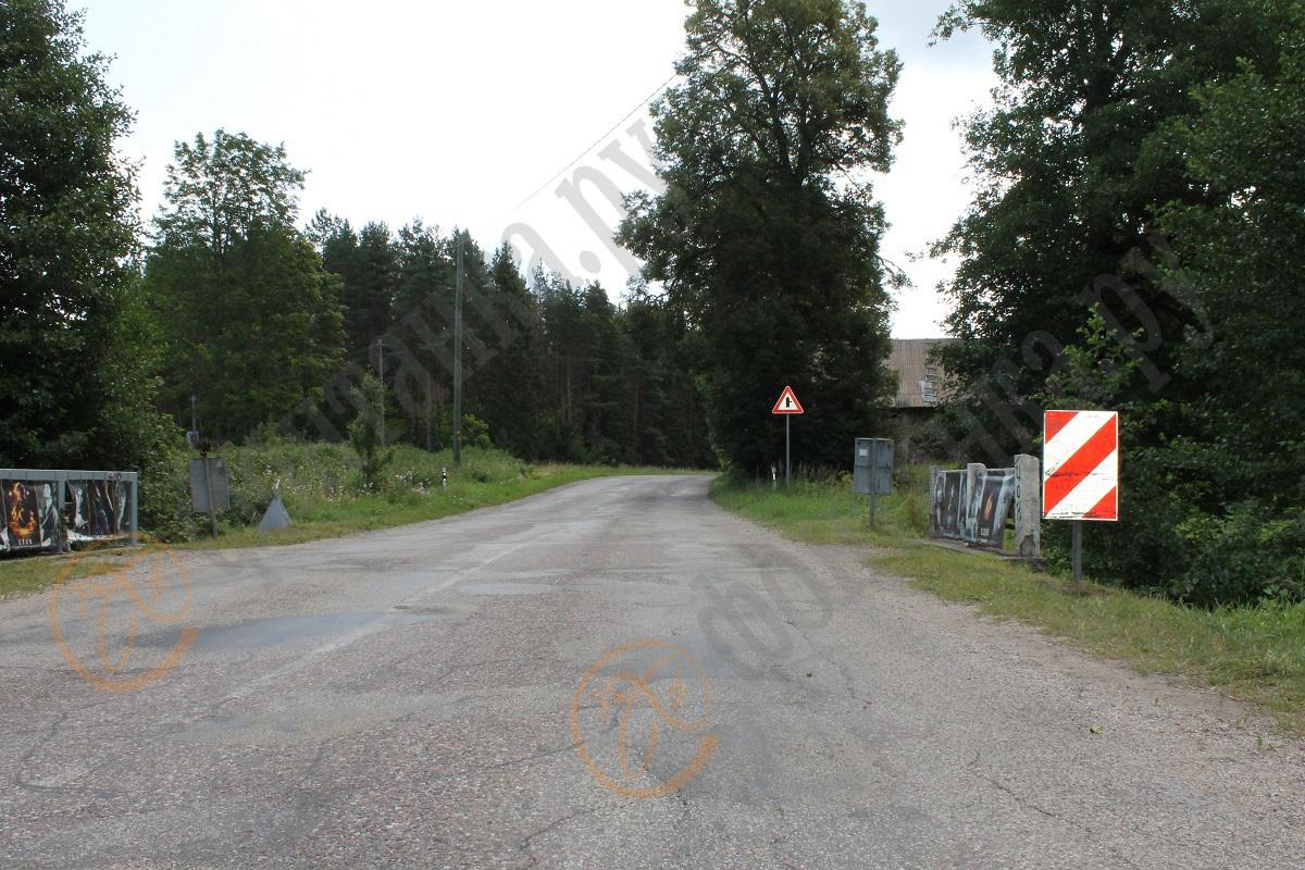 35-й километр дороги Слока - Талси, август 2019 года