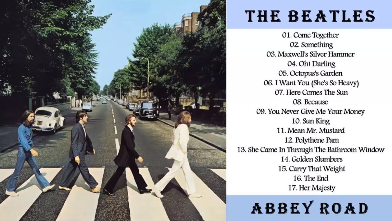 Скриншот с YouTube-канала The Beatles Music