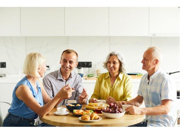 Семейное счастье живёт на кухне