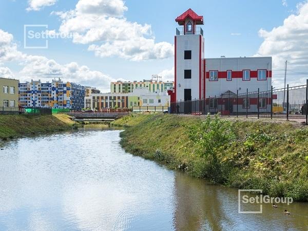 Setl Group построил в Кудрово первое пожарное депо