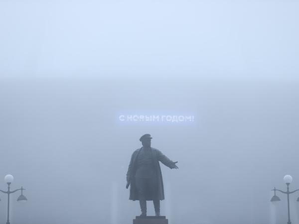 Сайлент-Петербург. Туман, накрывший город, попал в объектив «Фонтанки»