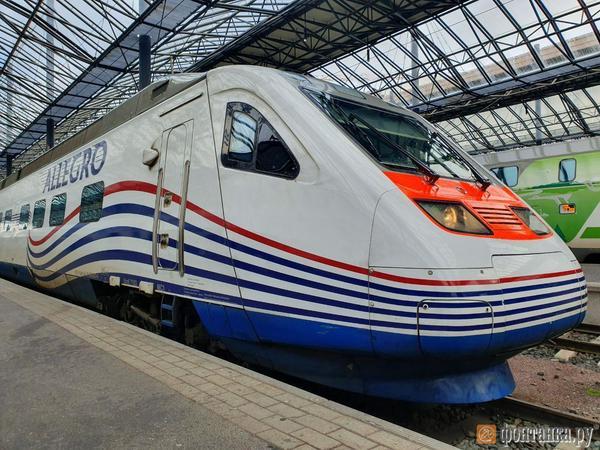 «Аллегро» за год перевёз рекордные 555 тысяч пассажиров