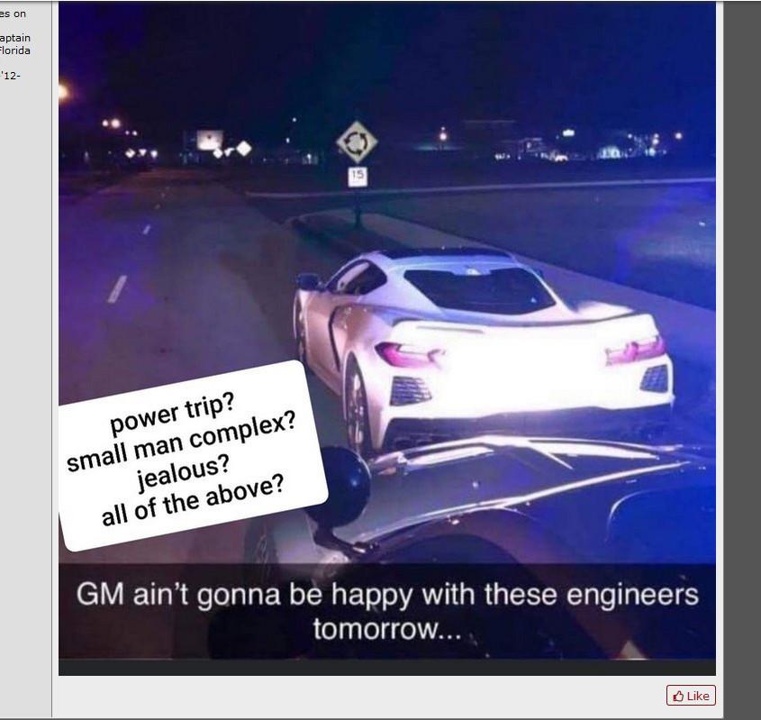 Скриншот с форума corvetteforum.com