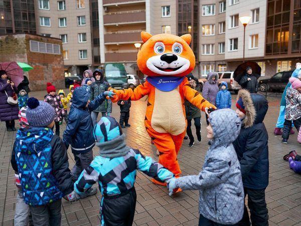 В жилых комплексах Группы «Эталон» прошли новогодние мероприятия