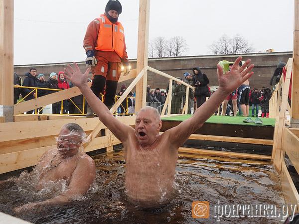 Где в Петербурге можно искупаться на Крещение