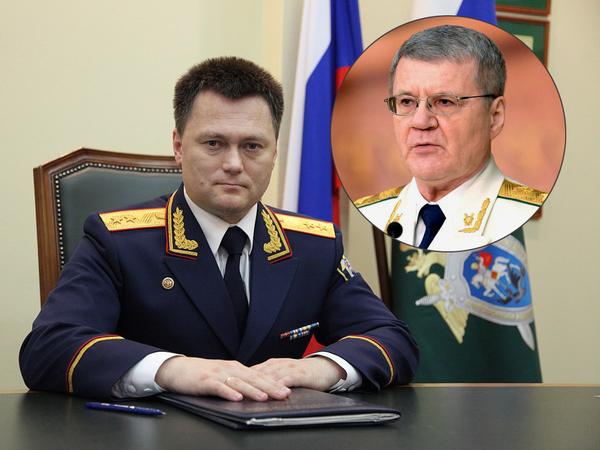 Игорь Краснов и Юрий Чайка / коллаж