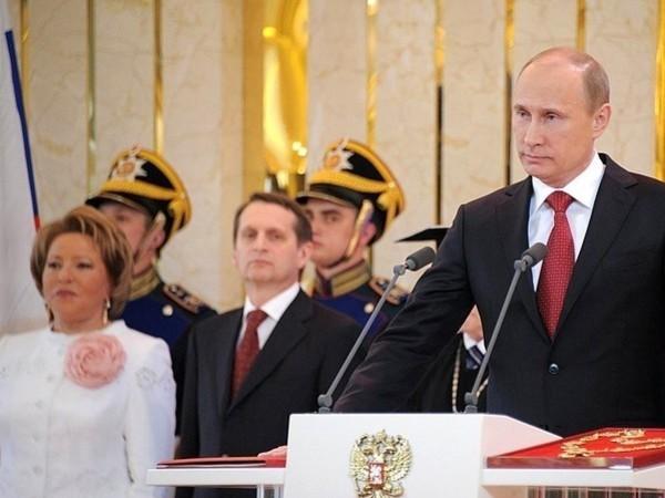 Церемония вступления Владимира Путина в должность президента России / фото - пресс-служба президента РФ