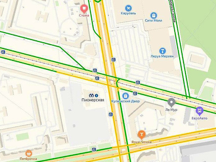 Как выбить пробку у метро «Пионерская». В 2023 году там построят новый ТРК – больше, чем «Мега-Парнас»